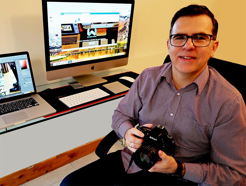 Adrian Watkins of W Web Design